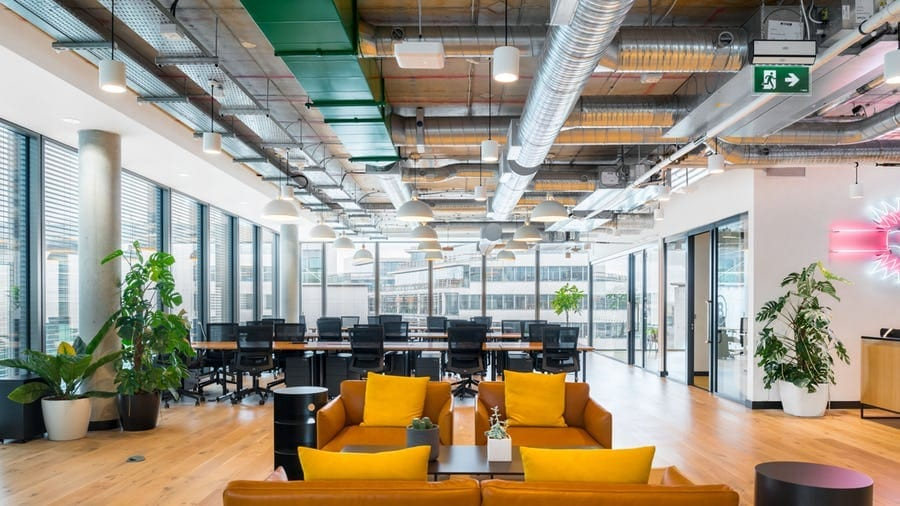 WeWork Charlemont Exchange office design